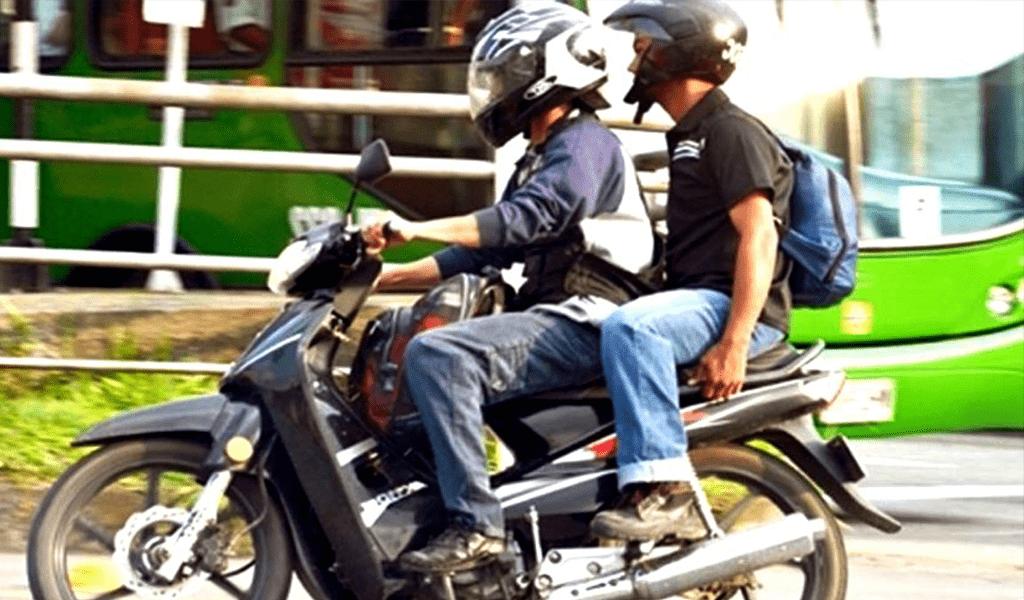 'Ley seca' y sin parrillero en moto, durante marchas de protestas