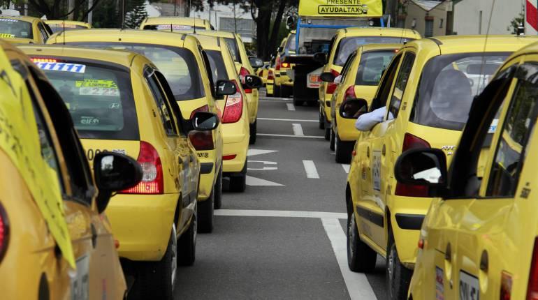 La mínima para taxis en Ibagué quedó en $4.600