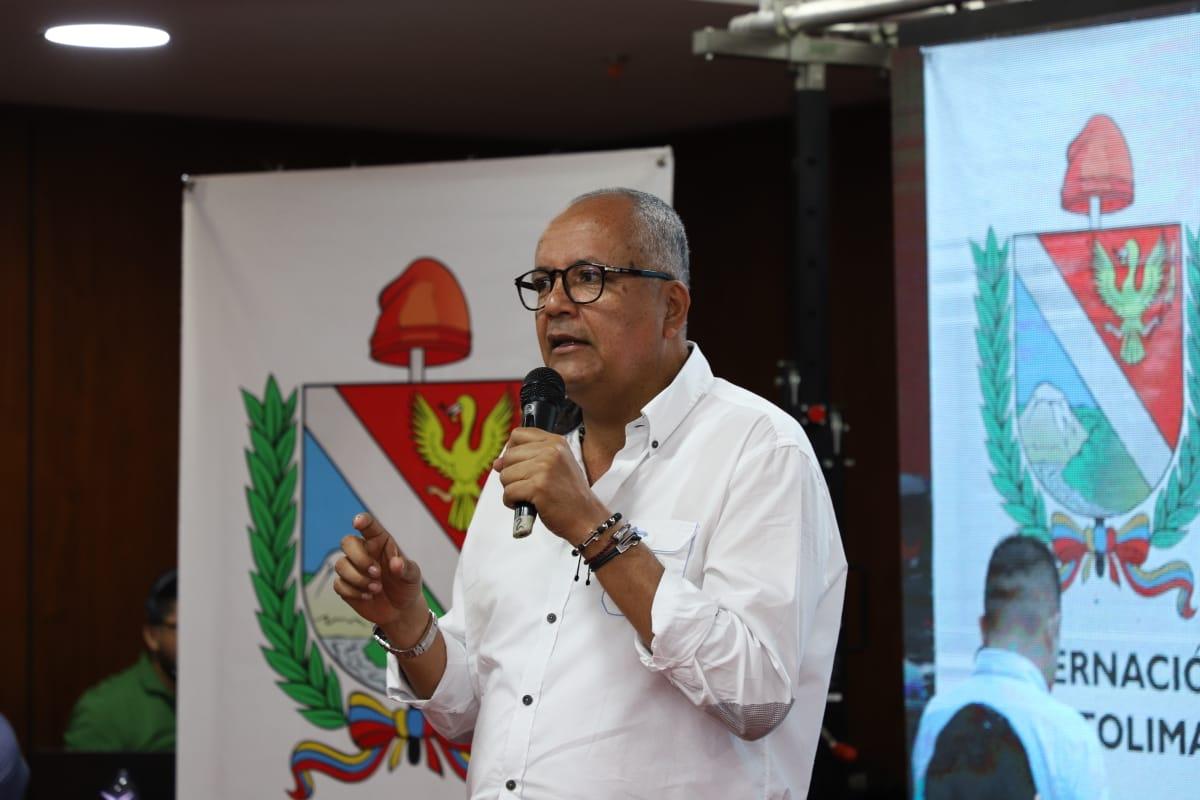 Óscar Barreto habló sobre algunas obras de final de año en vías del Tolima