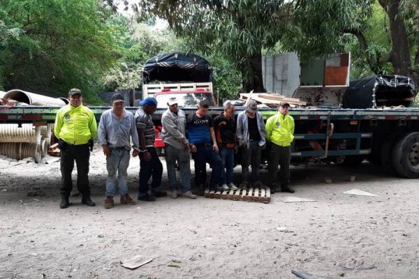 Atraparon a 'Los Elefantes', dedicados al robo de carros y venta de autopartes