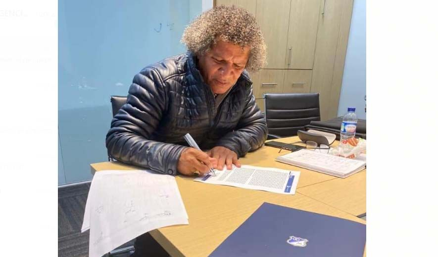 Gamero ya firmó con Millonarios
