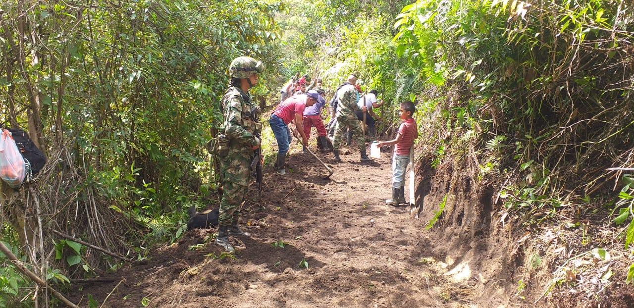 Héroes Bicentenarios, recuperan calles para la población campesina del sur del Tolima