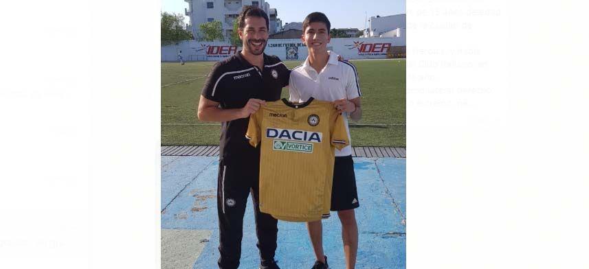 Segundo ibaguereño del Club Atlético Galicia fichado este año por Udinese Colombia