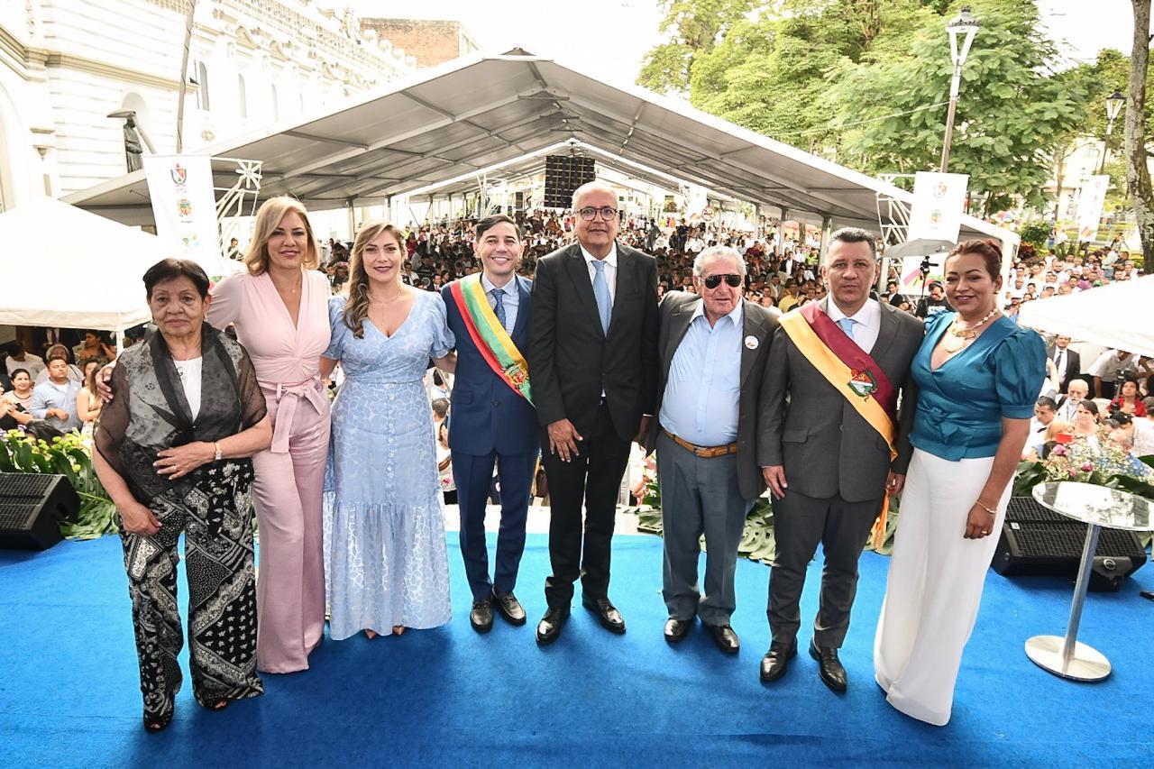 Tomaron posesión mandatarios de Alcaldía, Gobernación y Cortolima