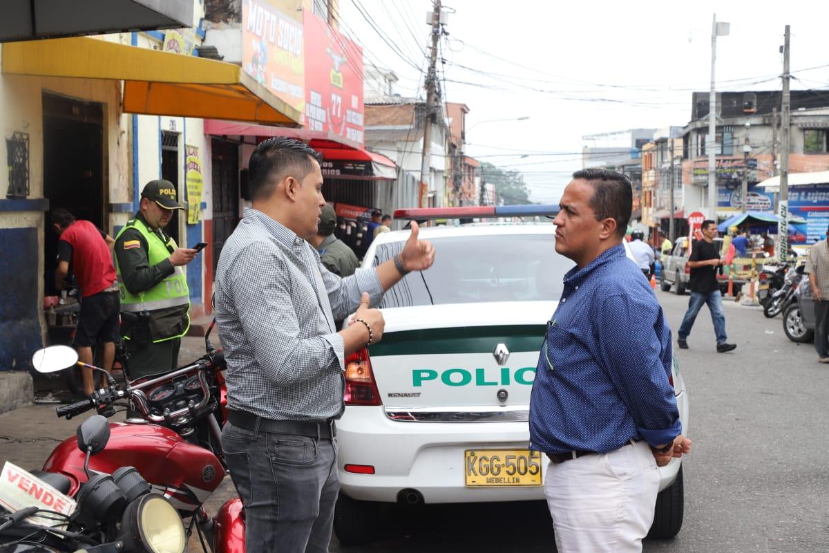 Operativos contra carros y partes hurtadas en la 24 y 25