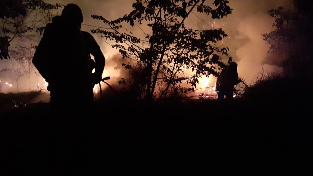 Organismos de socorro han atendido más de 40 incendios forestales en los últimos días
