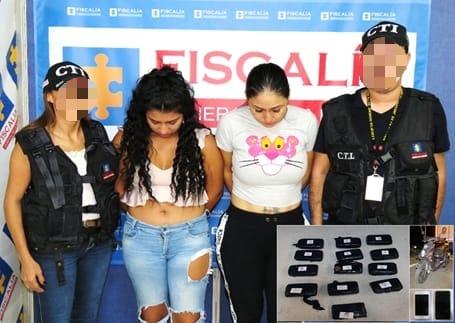 Cárcel para dos mujeres por transportar 14 kilos de marihuana en moto