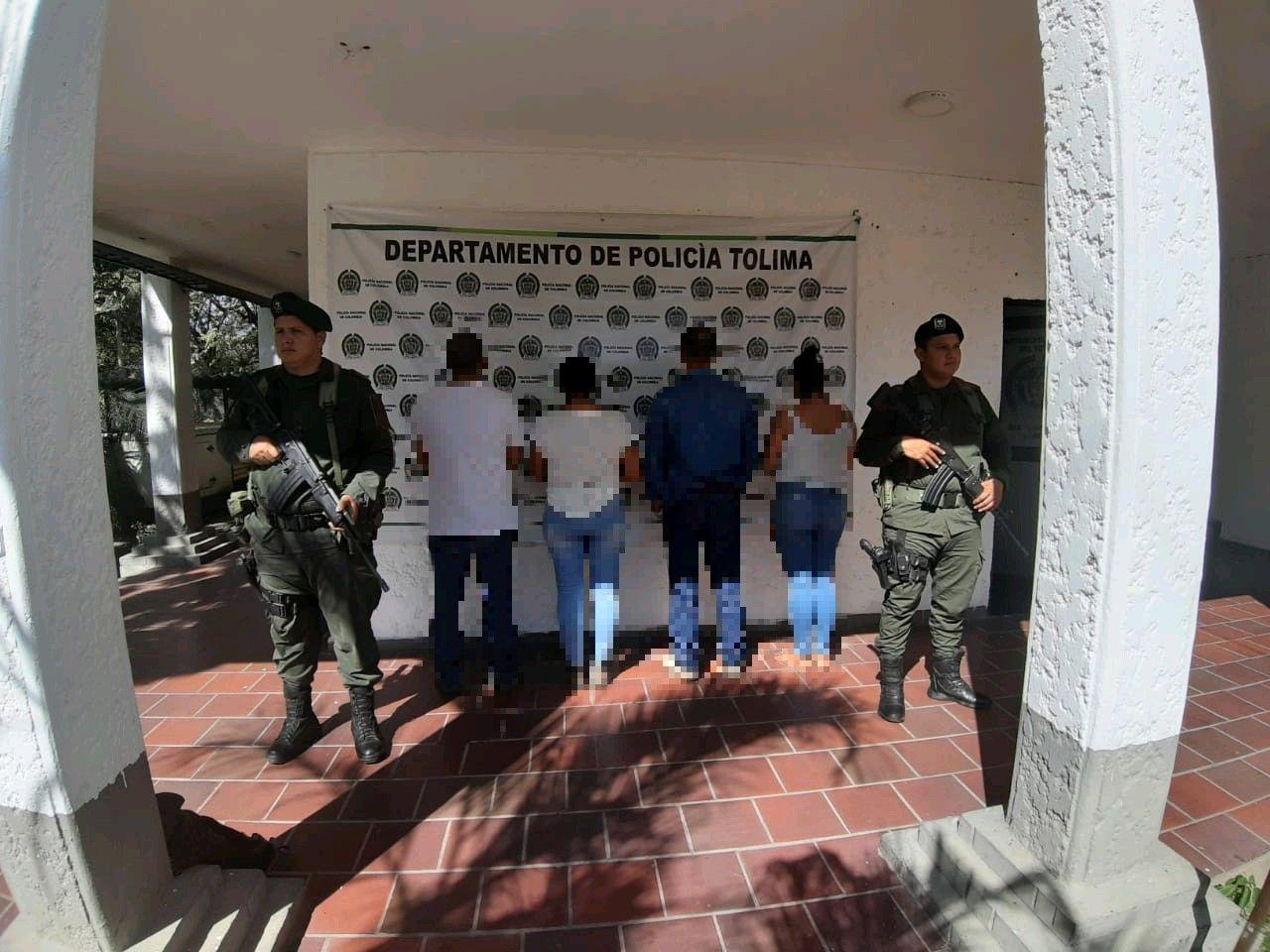 Cuatro capturados en operativo contra minería ilegal en el Tolima