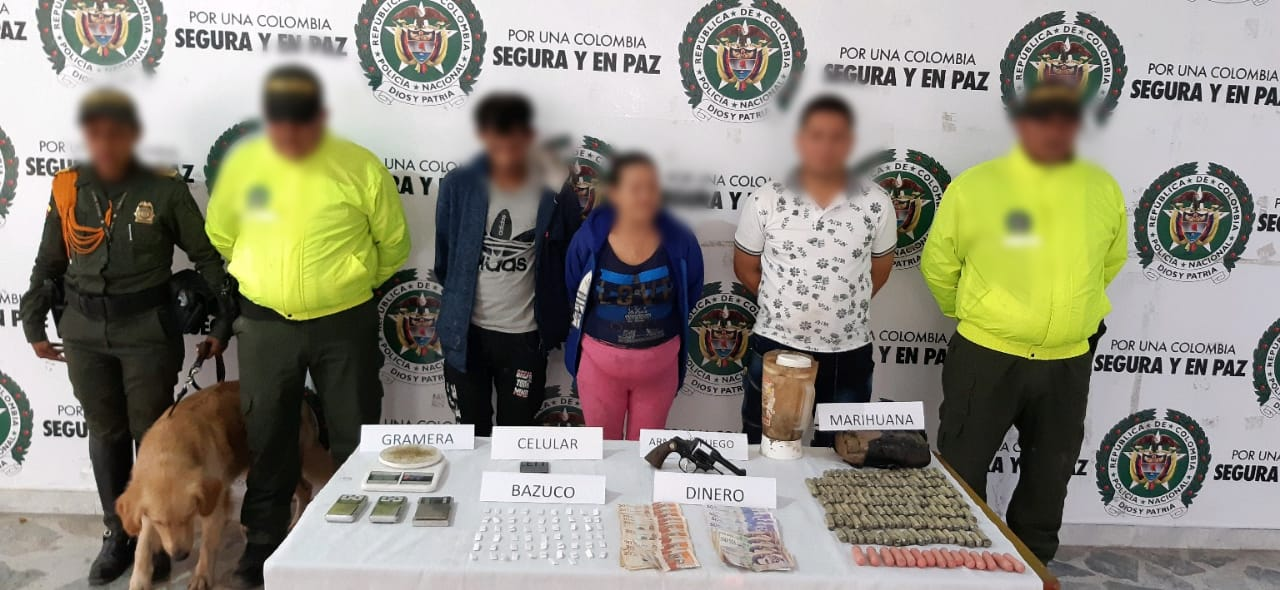 Le cayeron a familia que comercializaba estupefacientes en la cárcel de Picaleña
