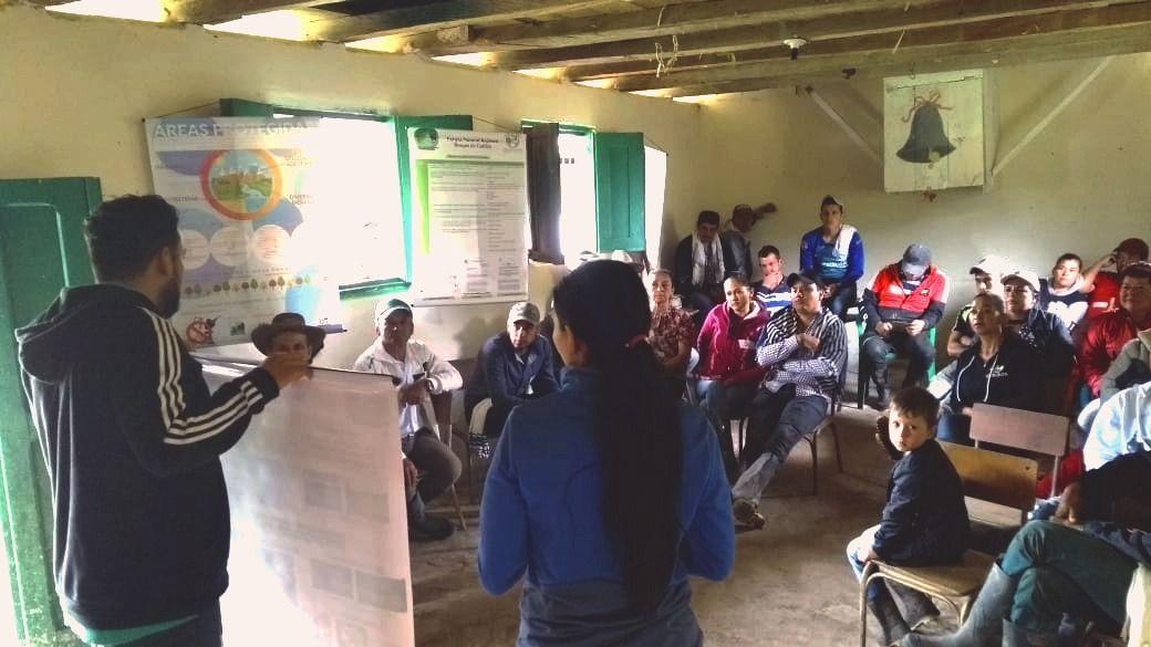 Cortolima continúa socializando la declaratoria de Parque Natural Regional del Bosque de Galilea
