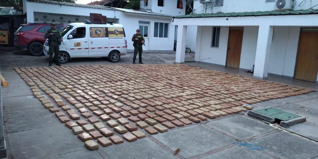 Cayeron 533 kilos de yerba en vía del sur del Tolima