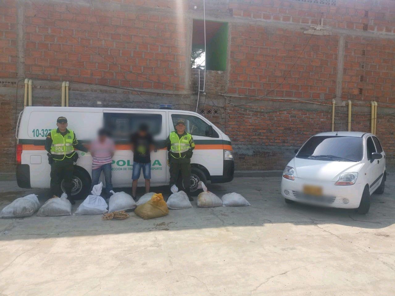 Cayeron con 218 kilos de carne ilegal en la vía a Mariquita