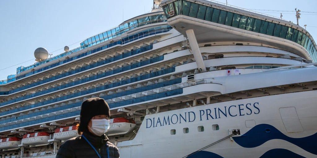 Colombiano contagiado de Coronavirus a bordo del crucero Diamond Princess