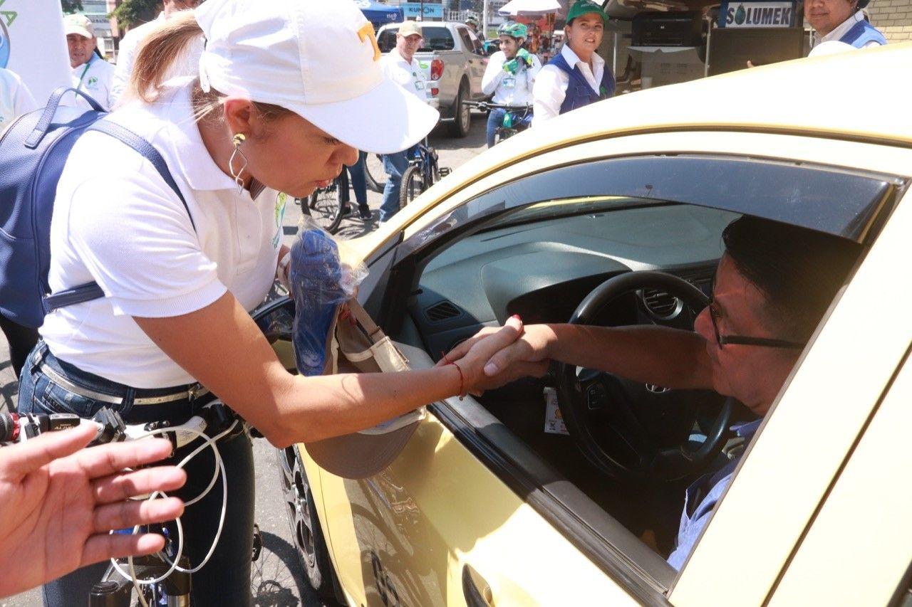 Cifras preocupantes en mediciones de Cortolima en el 'Día sin carro'