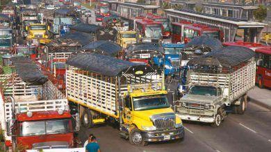 Se levantó el paro camionero en Bogotá