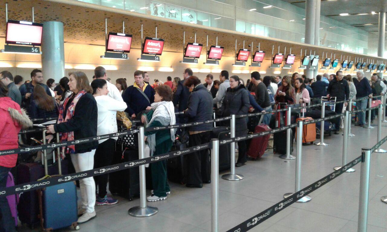 Viajeros de aeropuertos creció un 10 % el 2019