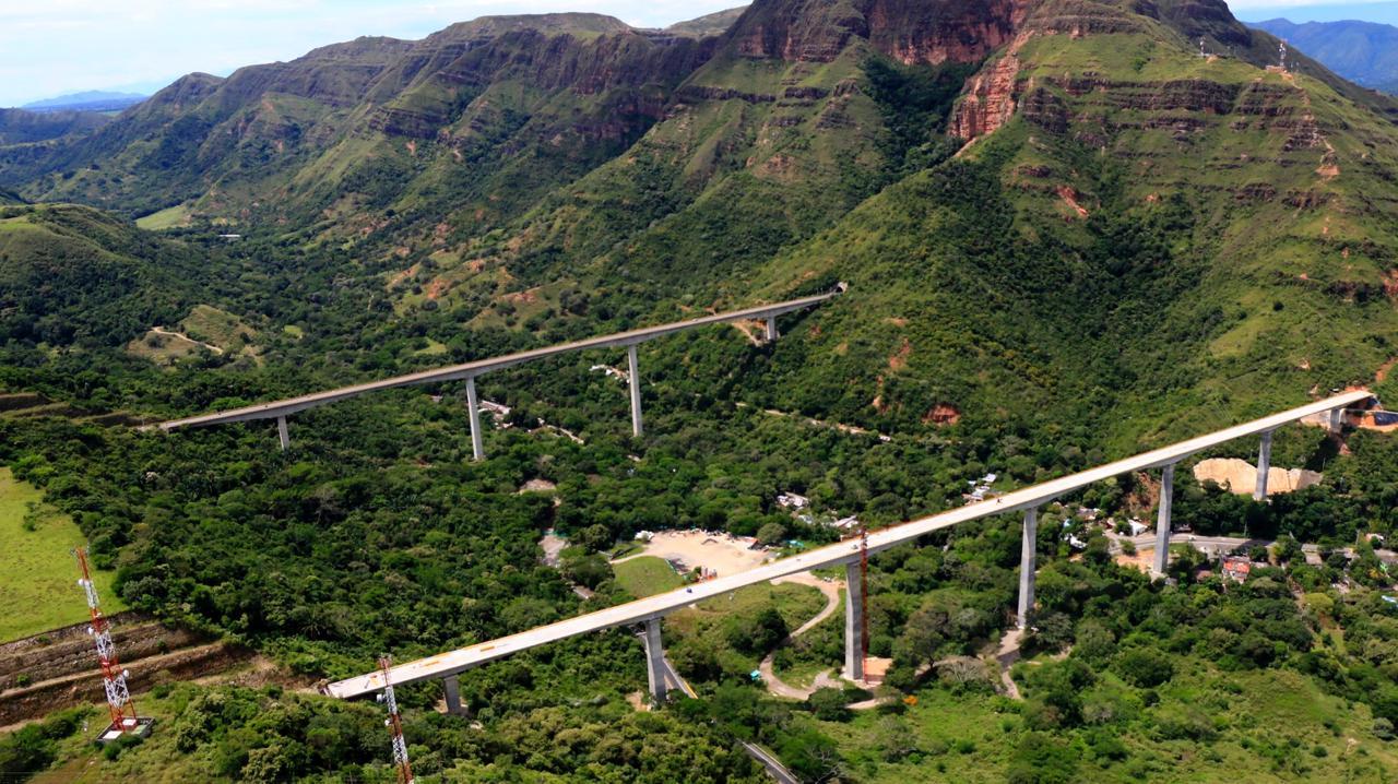 Este sábado el Presidente pondrá en funcionamiento el segundo viaducto de Gualanday