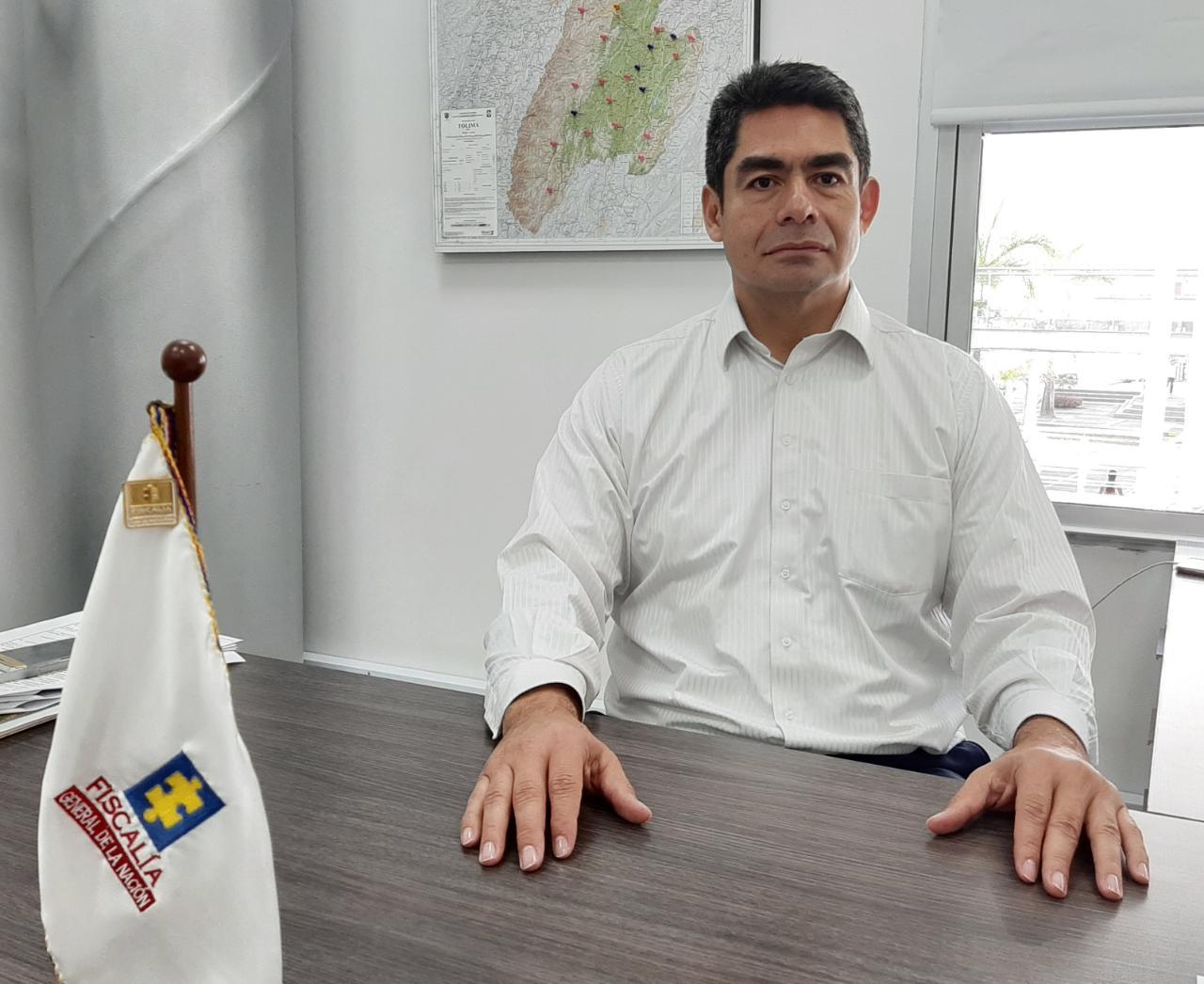 Nuevo director de Fiscalía en el Tolima