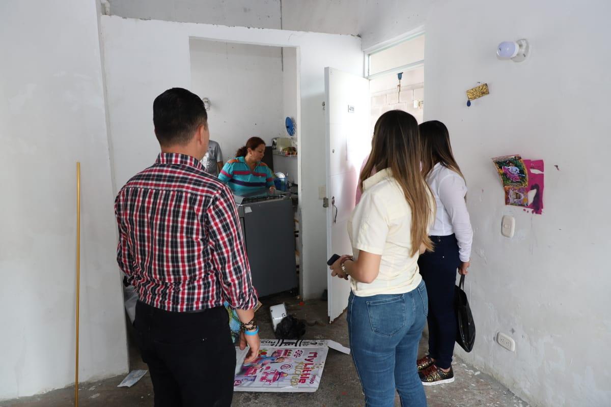 Autoridades recuperaron dos inmuebles utilizados para el microtráfico en multifamiliares del Tejar