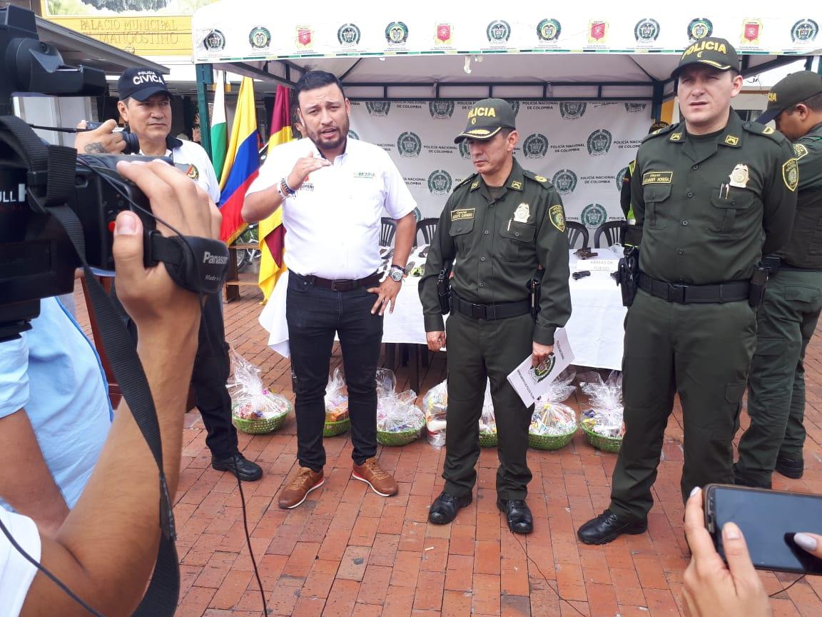 Exitosa campaña de desarme en Mariquita y norte del Tolima