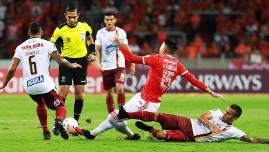 Deportes Tolima eliminado pese a que no fue inferior al Inter de Porto Alegre