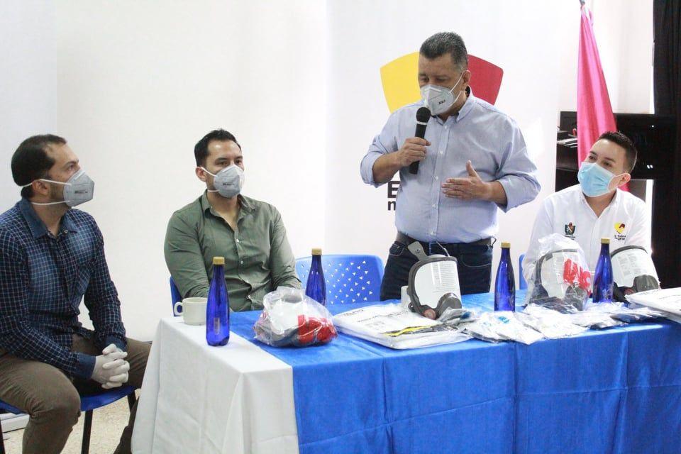 Fundación de James Rodríguez donó implementos médicos para la atención del Covid-19