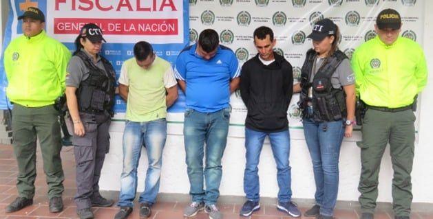 Capturados 'Los buseteros', dedicados a atracar vehículos de transporte intermunicipal