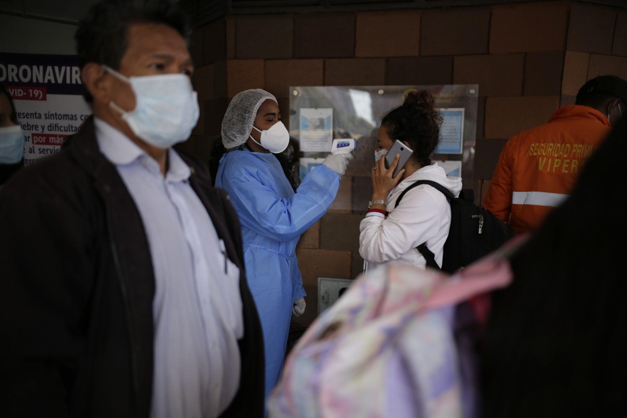 Subió a 608 el número de contagiados por Covid-19 en Colombia