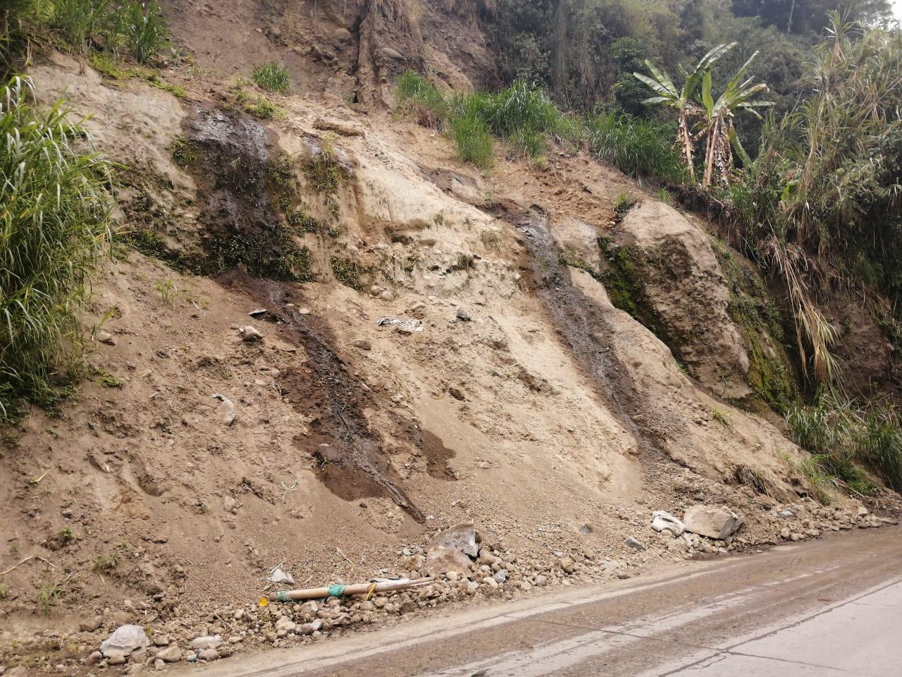 Avanzan trabajos de mitigación en el sector de La Vega