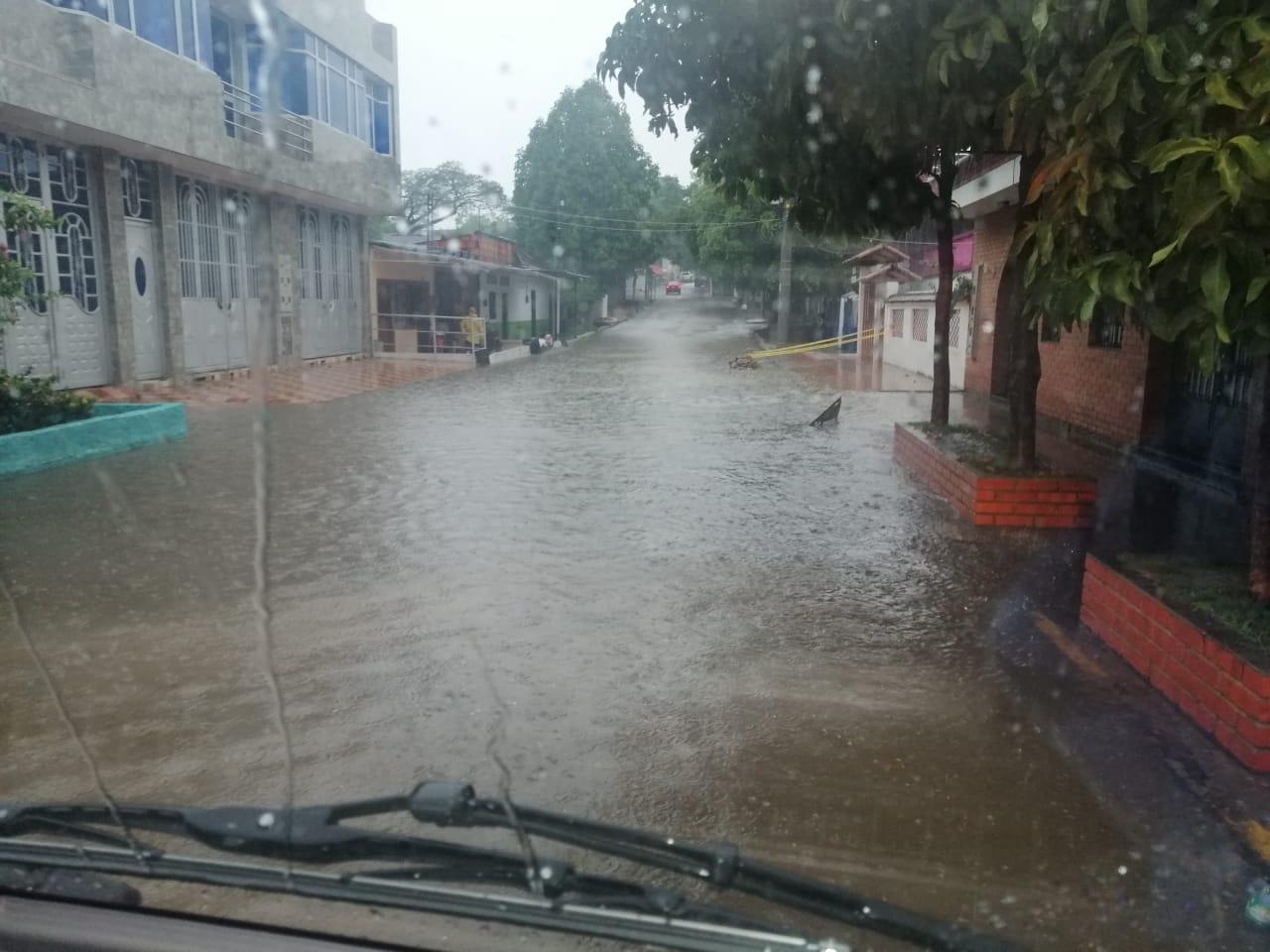 Fotos: Casas afectadas y cultivos perdidos por fuertes lluvias en Villhermosa y Carmen de Apicalá