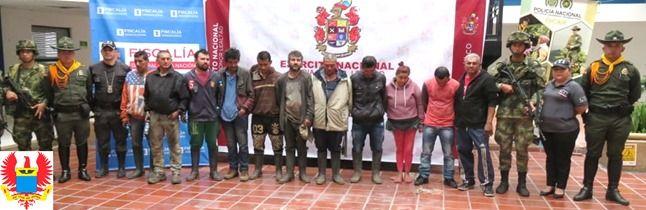 Capturan a 'Los Empresarios' por minería ilegal en zona rural de Ibagué