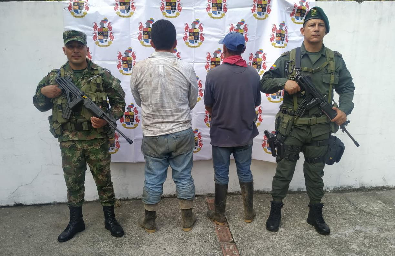Por tala de árboles dos hombres fueron capturados en flagrancia en el norte del Tolima