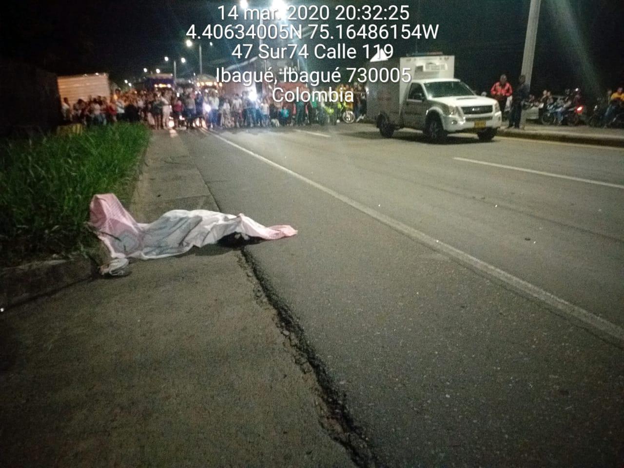 Identificaron a la venezolana arrollada por moto cerca al Club Campestre