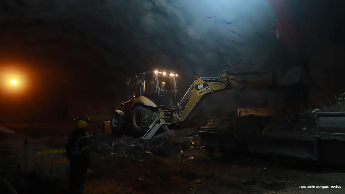 Obras del Túnel de La Línea continuarán con protocolos de salud