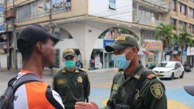 Policía ha impuesto 1275 comparendos en Ibagué por desacato a la 'cuarentena'