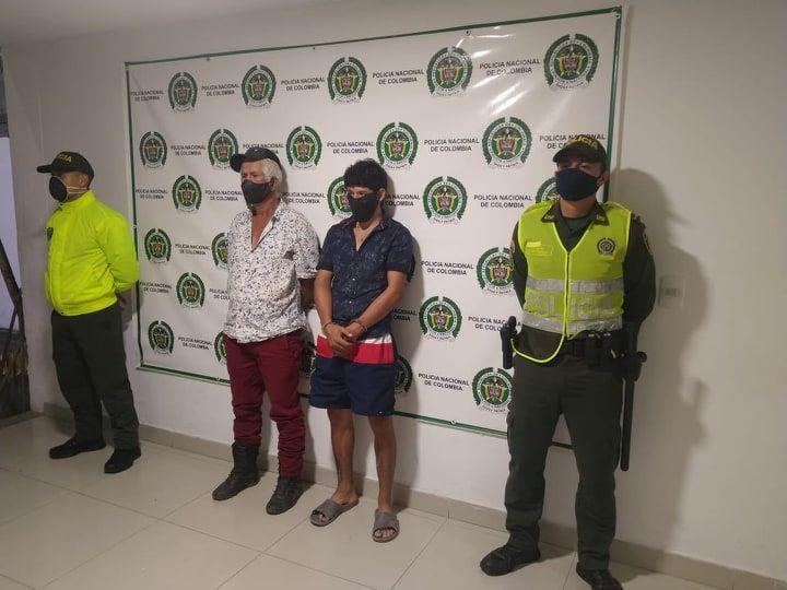 Asegurados padre e hijo por homicidio agravado en medio de una riña en Tolima