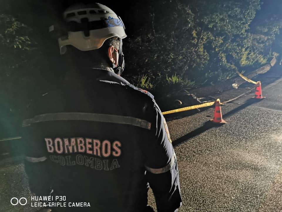 Murió motociclista en siniestro vial entre Mariquita y Fresno