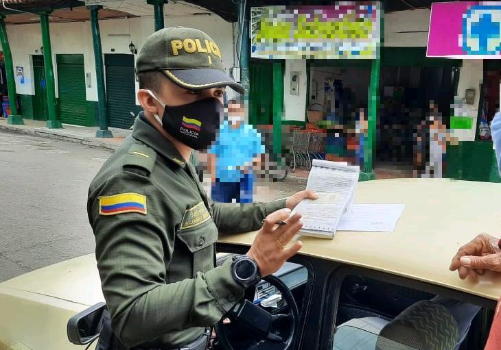 Más de cinco mil comparendos ha impuesto la Policía del Tolima por 'violar' la cuarentena