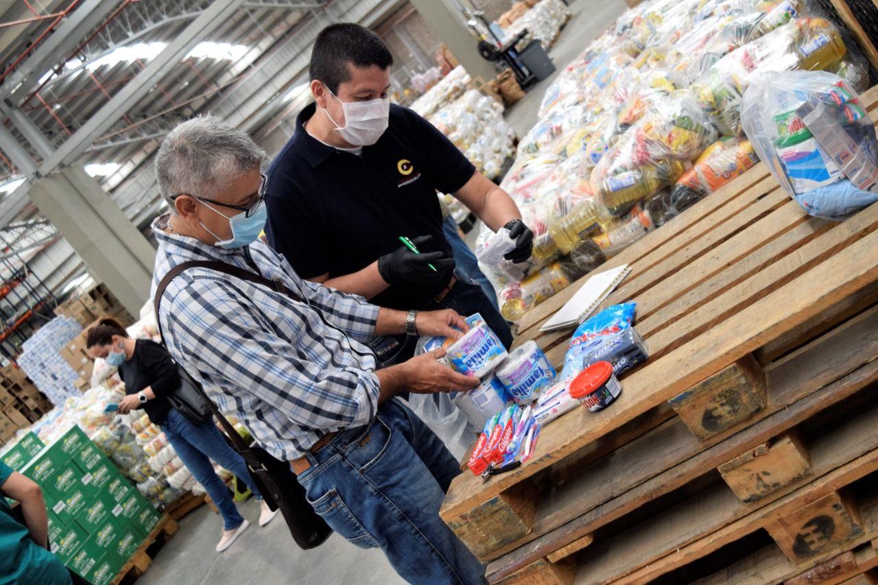 Vigilancia a la inversión en kits nutricionales y de aseo adquiridos por la Gobernación del Tolima