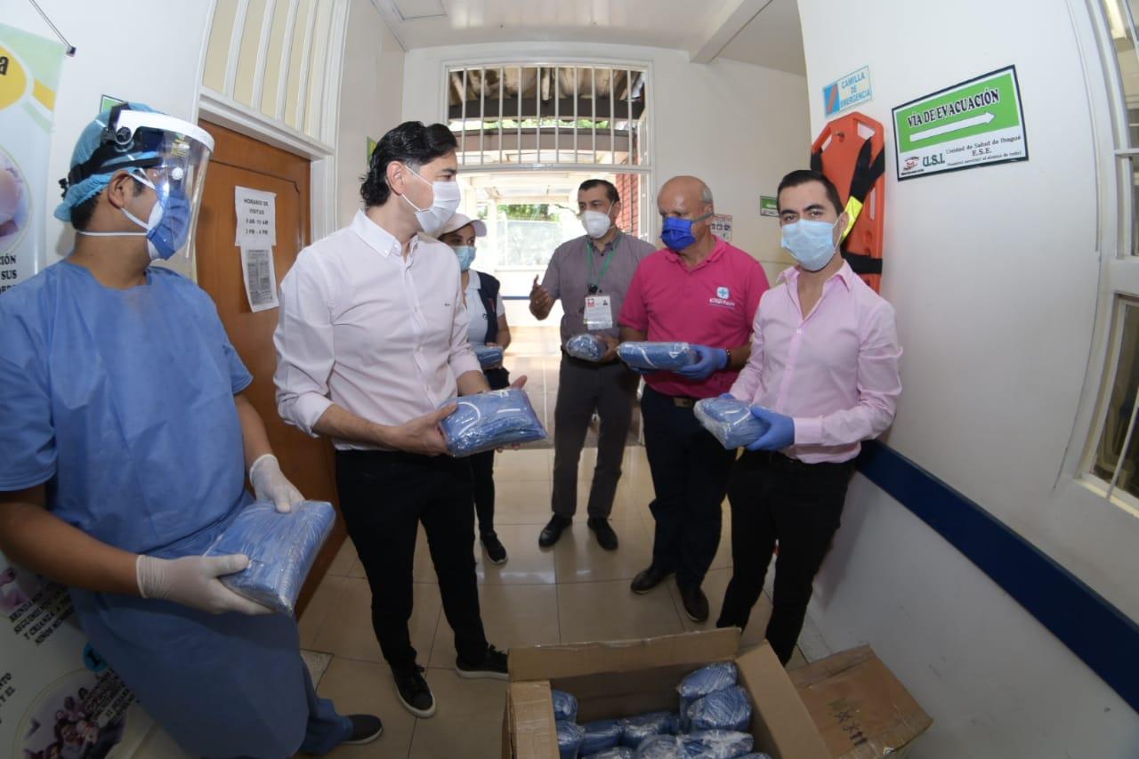 Droguerías Copifam donó 5.000 tapabocas para personal médico de Ibagué
