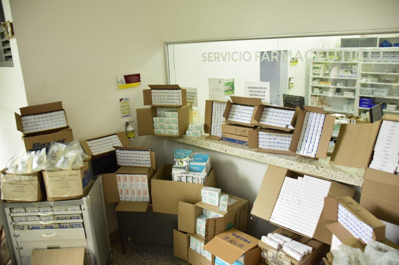 Gobierno departamental entrega medicamentos para la atención de pacientes con Covid-19