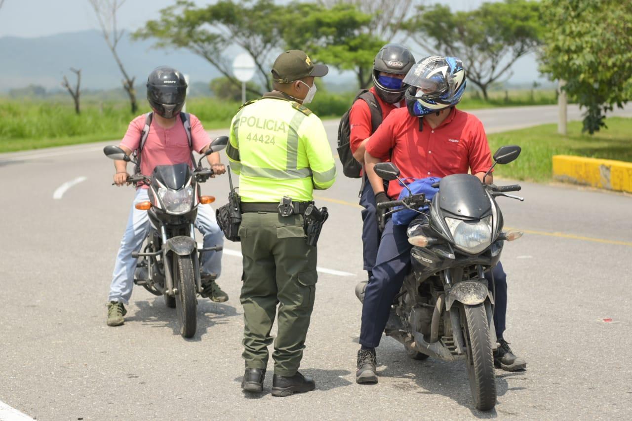 Secretaría del Interior coordina circulación para excepciones en vías del Tolima