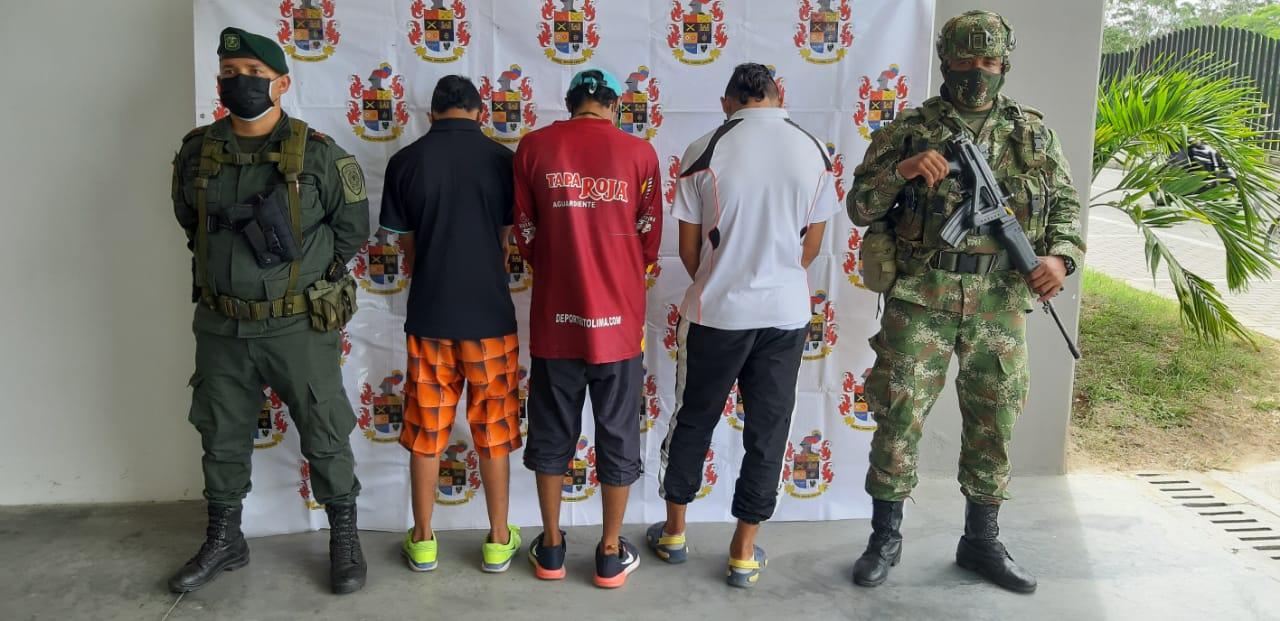 Capturados tres sujetos que habían robado a un venezolano