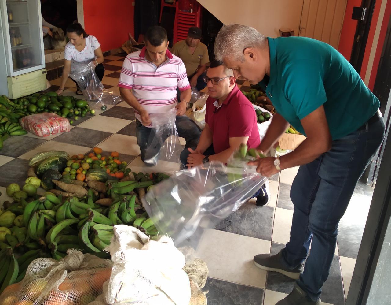 750 familias del Cañón del Combeima recibieron Kits por la Vida