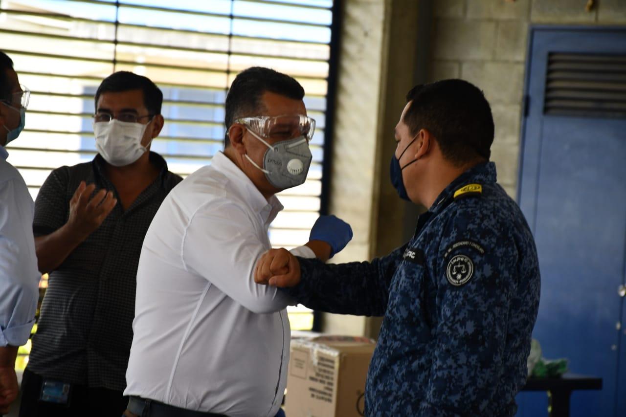 Gobernacion del Tolima entregó 5 mil tapabocas para internos de Picaleña
