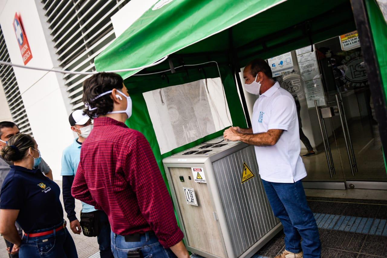 Ibagué cuenta con la primera cabina de alta desinfección de ozono