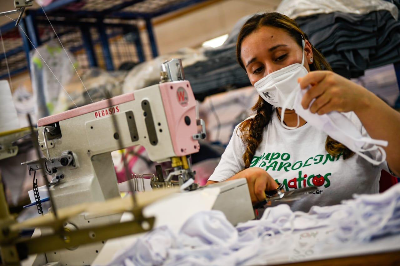 Tomaticos abre convocatoria pública de empleo para confección de elementos de protección
