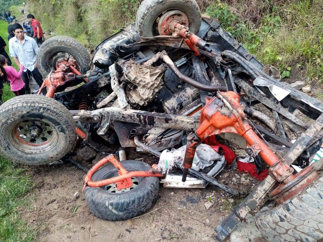 Mujer falleció en siniestro de campero en vereda del sur del Tolima