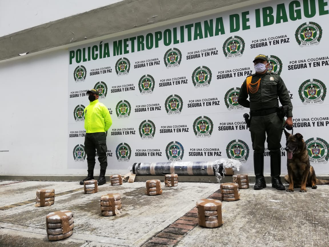 Encomienda 'voladora': Incautados 40 kilos de yerba
