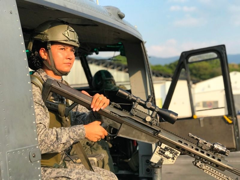 Entrevista: La ibaguereña que sobresale en tiro de plataforma de la Fuerza Aérea
